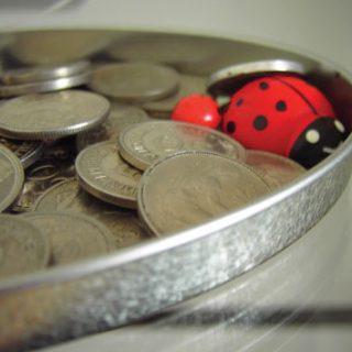 geld und Glueckskaefer