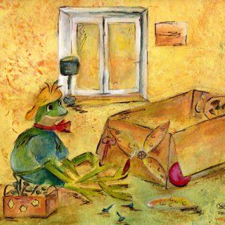 kinderbilderbuch frosch frido